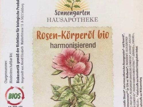 Körperöl Rose bio (100 ml)