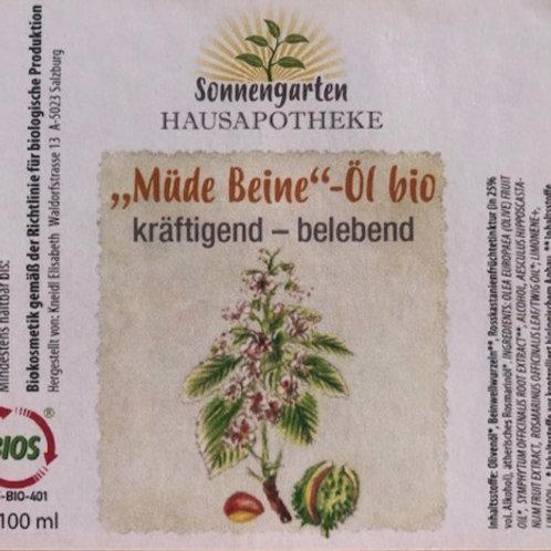 Müde-Beine-Öl bio (100 ml)