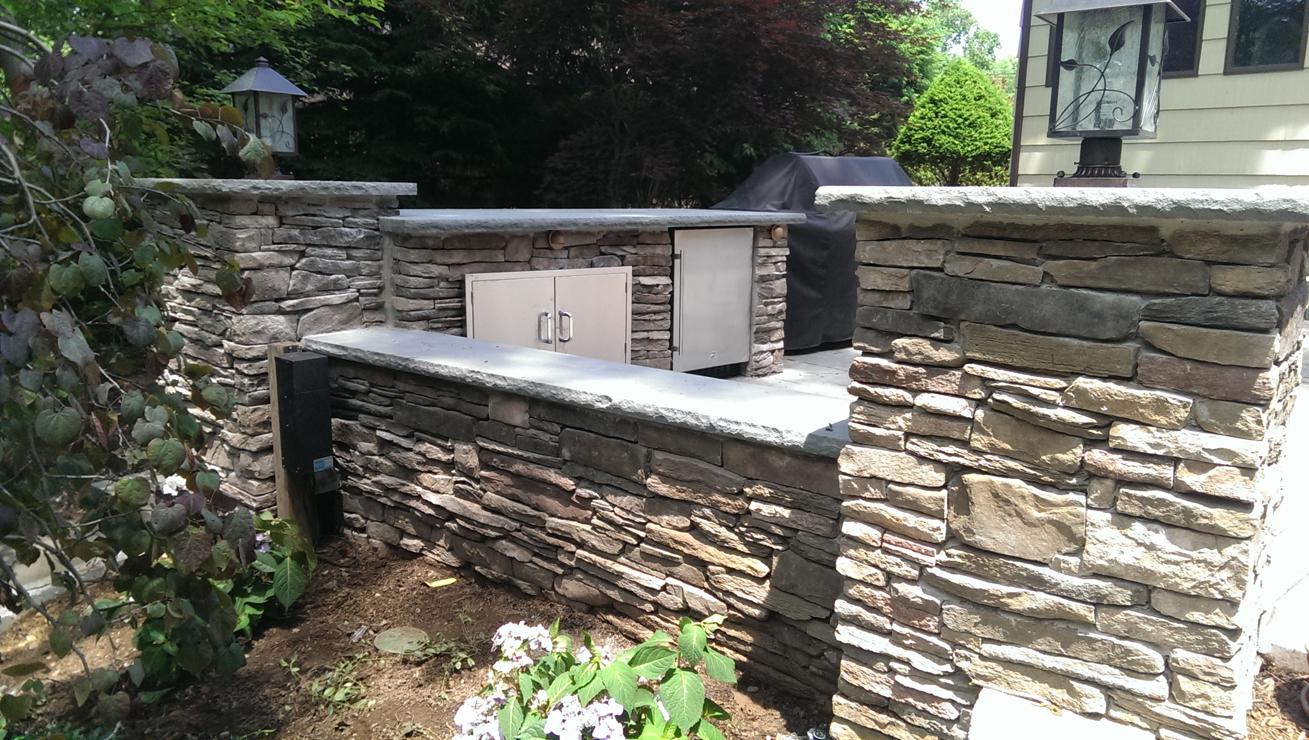 Outdoor Lighting and Station