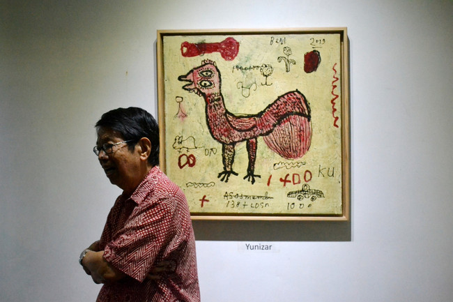 Yogjakarta artists celebrate collector Oei's 80th birthday