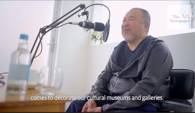Ai Weiwei on how the art world is failing society