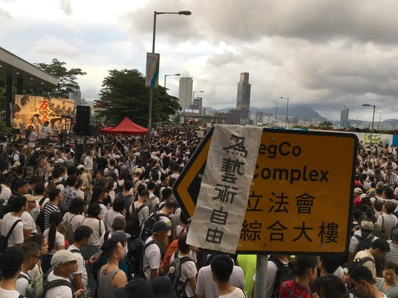 Hong Kong Artists Join Mass Protests Against Extradition Bill