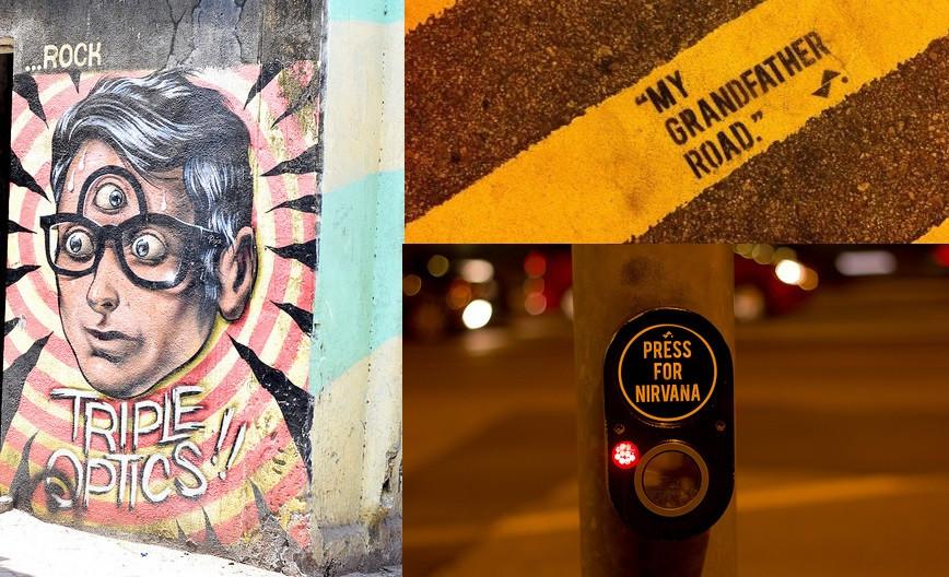 Street Art Singapore vs India