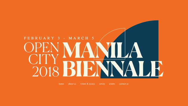 Manila's first biennale