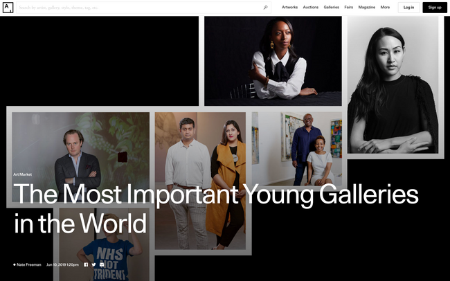 The Most Important Young Galleries in the World