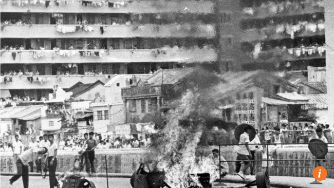Documentary director's struggle to find footage of Hong Kong's 1967 riots exposes problems with arch