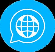 2 language_world blanc sur rond bleu.png