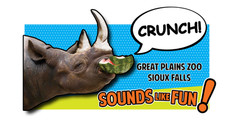 GreatPlainsZoo - Rhino Billboard