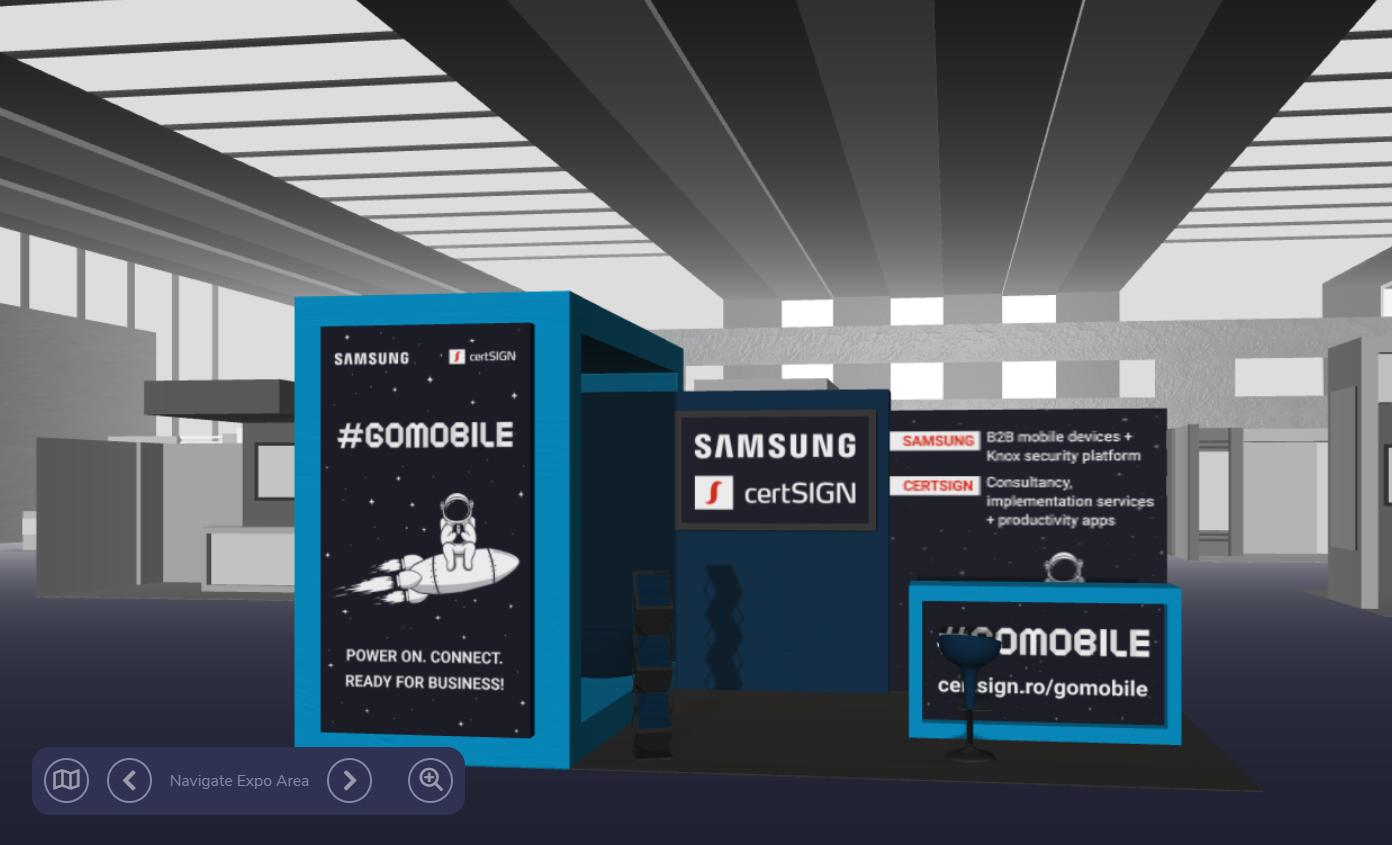 Samsung & certSIGN stand