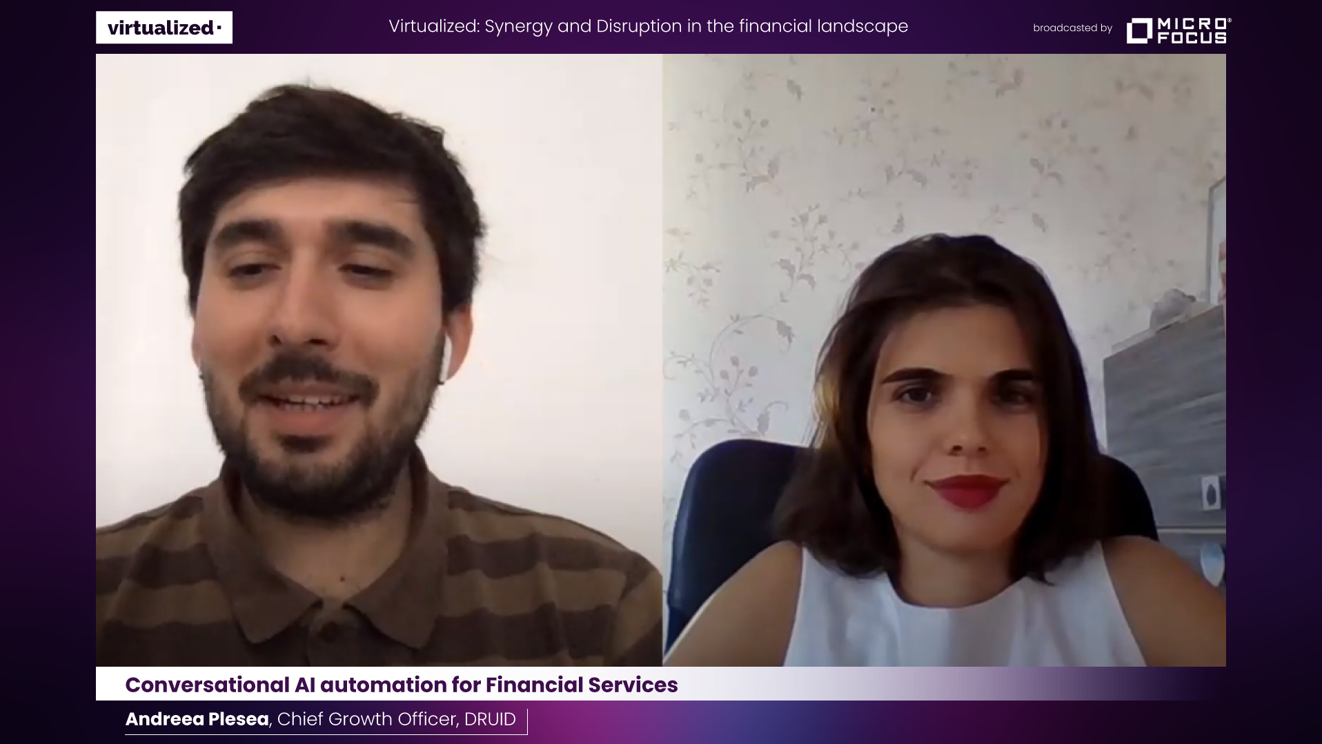 Conversational AI automation for Financial Services