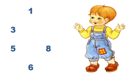 Как запомнить графическое изображение цифр.