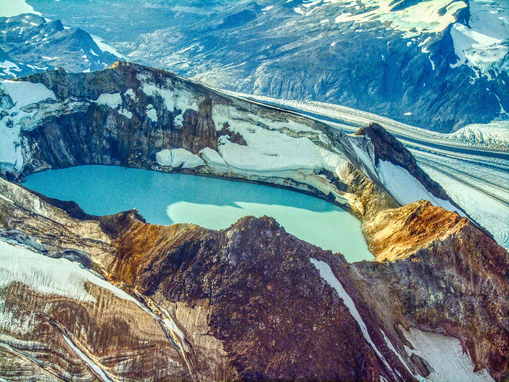 Mount Douglas in Katmai National Park photography