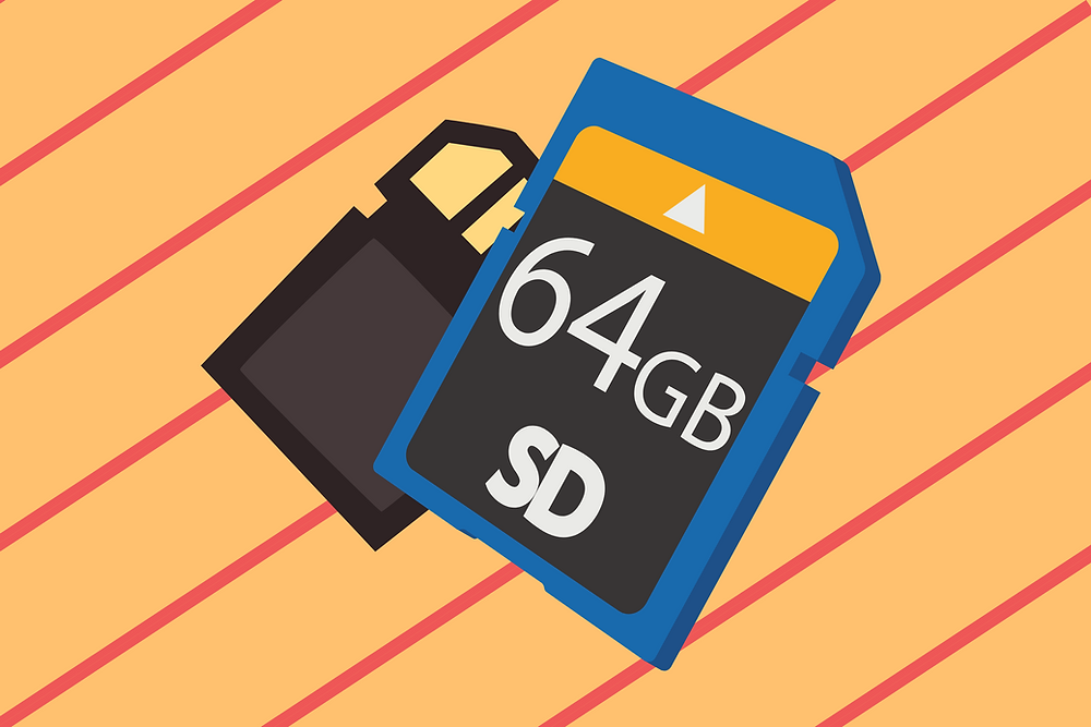 Best gifts for photographers - SD card