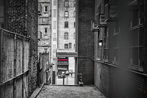 NYC upper west side travel photography selective color