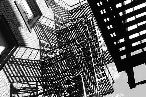 NYC fire escape photo