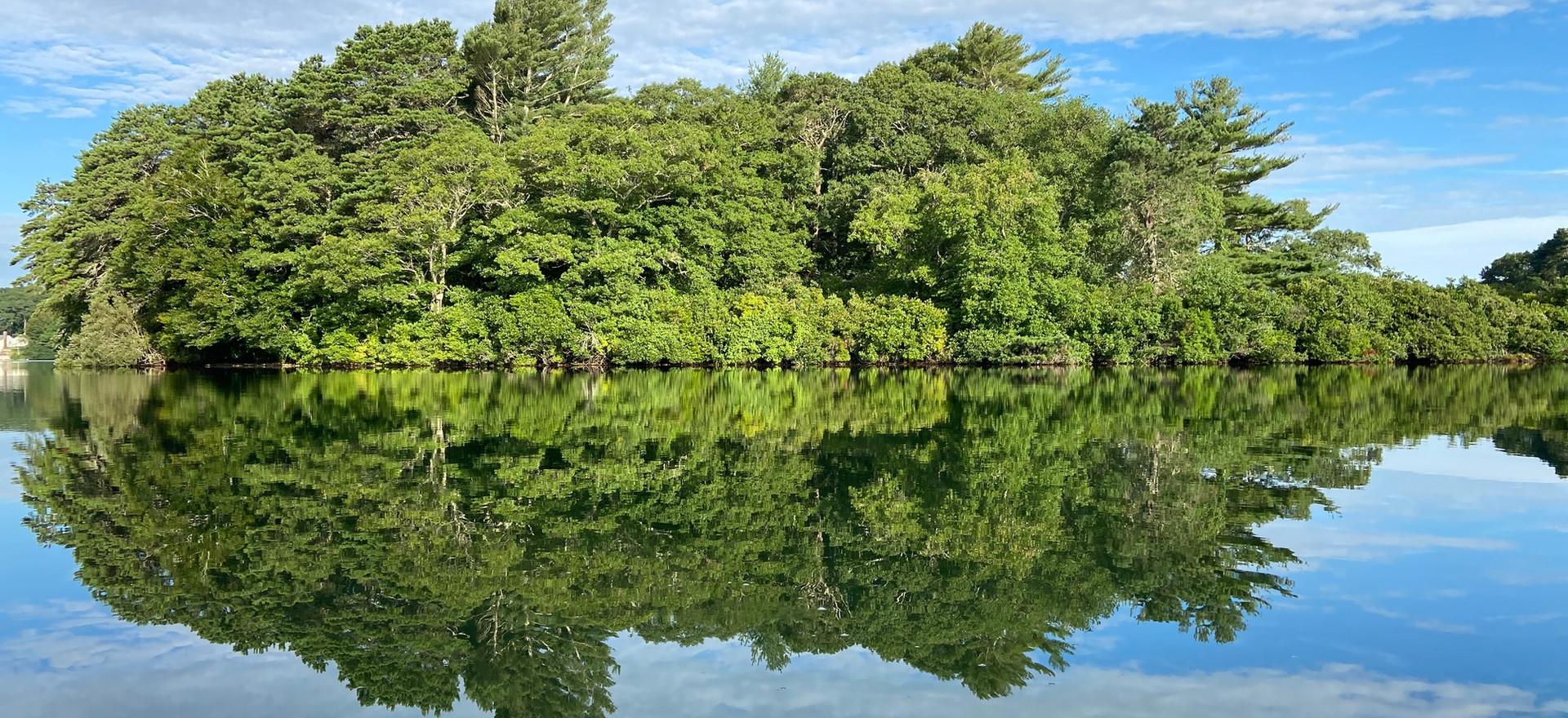 Mirrored  Ram Island