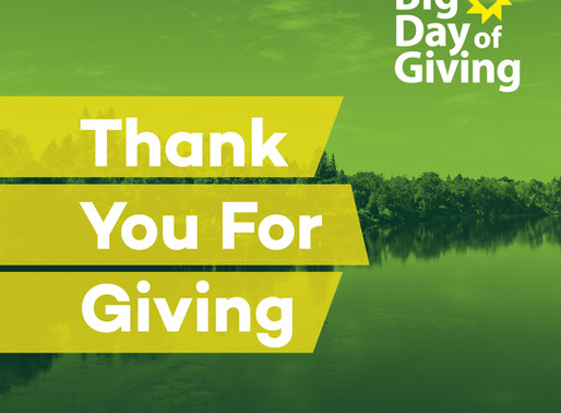 Thank you! Big Day of Giving