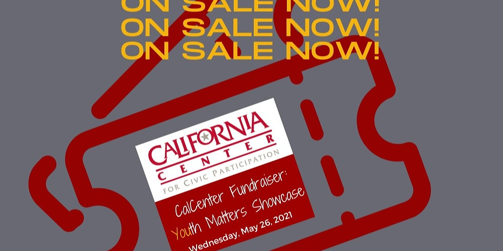 CalCenter Fundraiser: Youth Matters Showcase