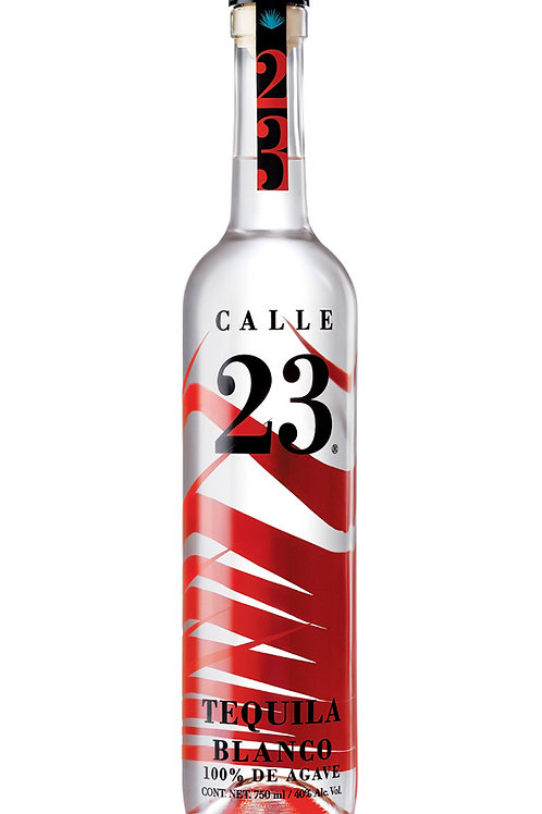 "Tequila blanco ""Calle 23"" - 100% agave - 700 ml"