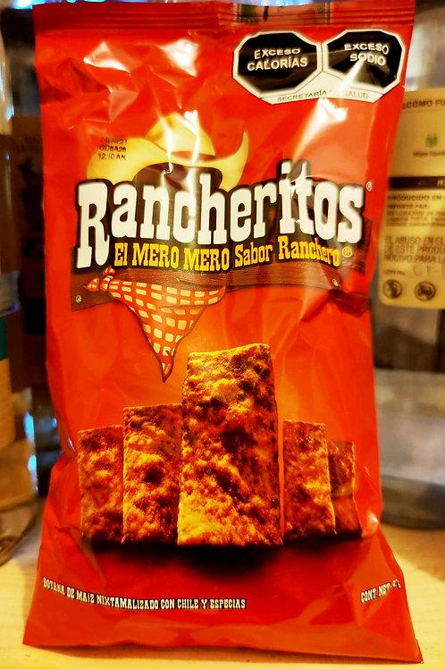 """Rancheritos, """"el mero sabor renchero"""" - 56 gr."""