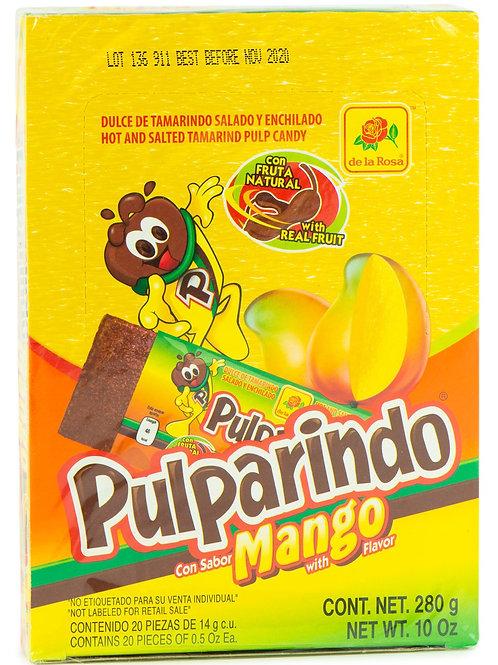 Pulparindo de sabor mango -De la Rosa - 280 gr