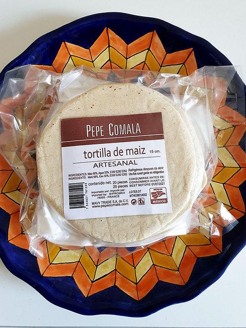 Tortillas de maiz Pepe Comala - 500 gr - 15 cm