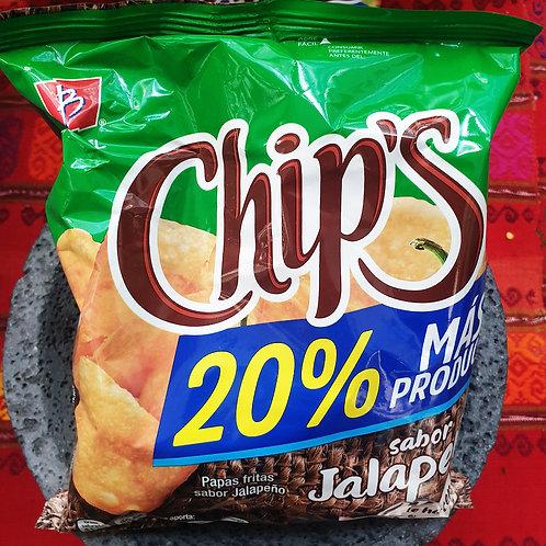 Chips sabor Jalapeño - Barcel - 56 g