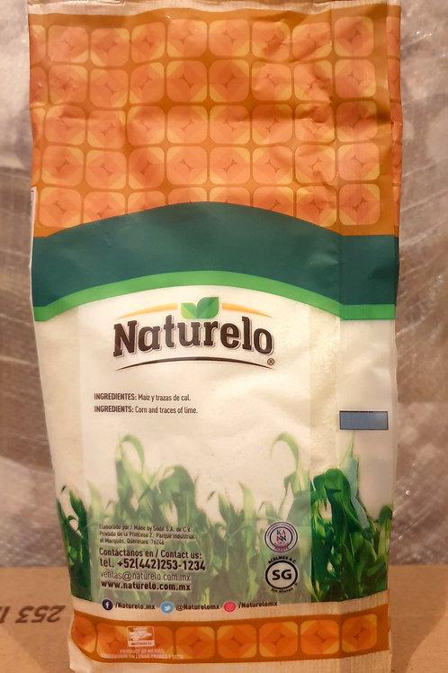 Harina de maiz blanco Naturelo - 1 kilo
