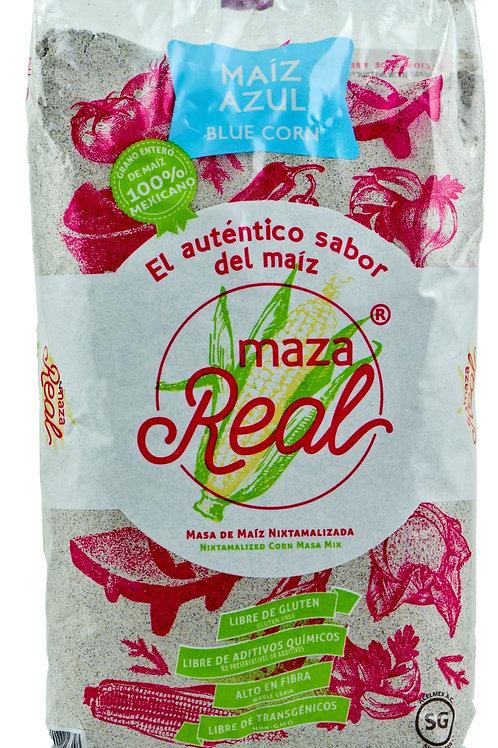 Harina de maiz azul - Maza Real - 1 kilo