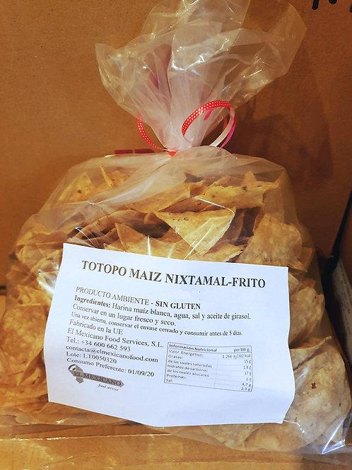 Totopo de maiz - El Mexicano - 500 g
