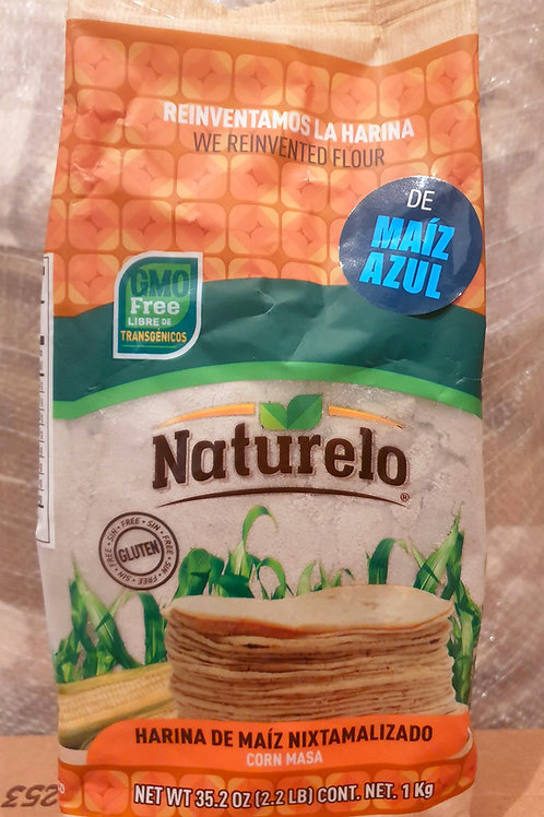 Harina de maiz AZUL Naturelo - 1 kilo