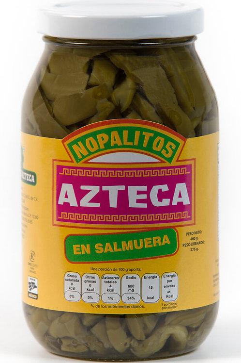 """Nopales """"Azteca"""" en rajas 460 gr."""