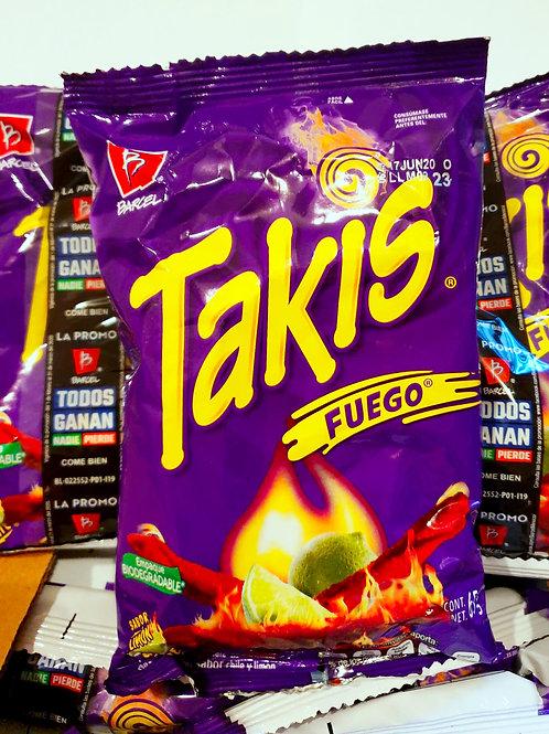 Takis Fuego, Barcel - 63 g