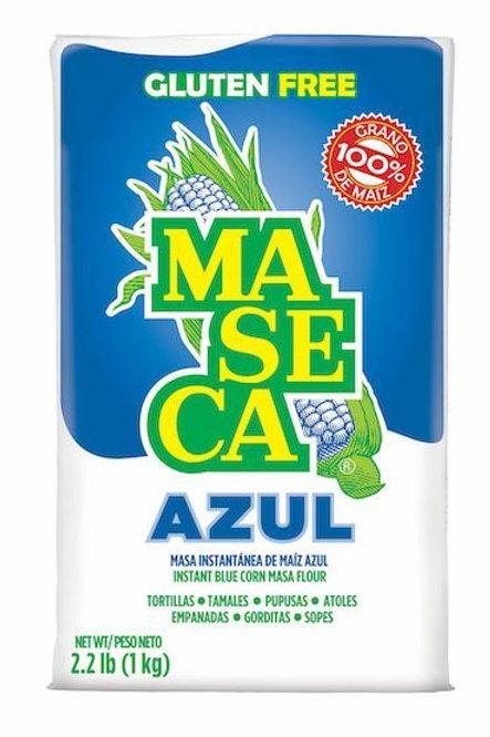 "Harina de maíz azul ""Maseca"" 1 K."