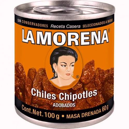 "Chipotles adobados ""La Morena"" 100 gr"