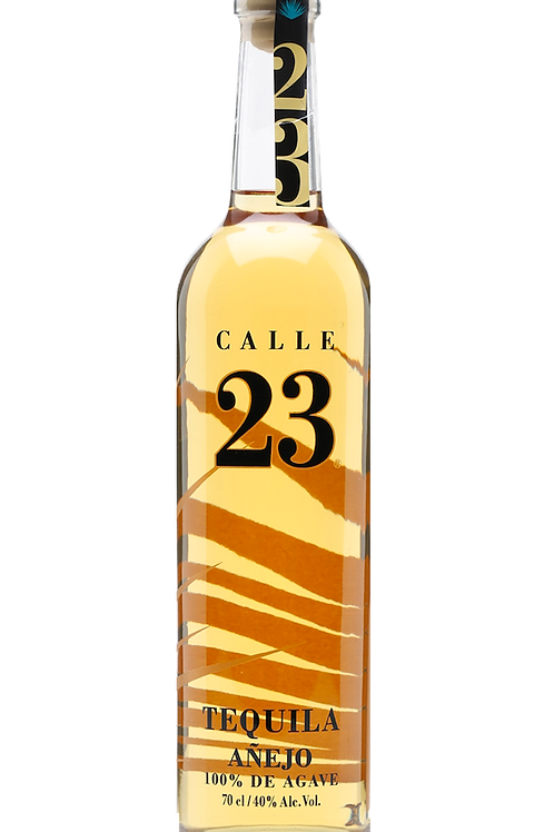 "Tequila ""Calle 23"" Añejo - 100% agave - 700 ml"