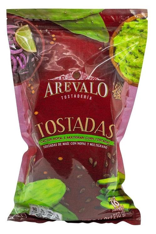 Tostadas de Nopal Arevalo - 210 gr