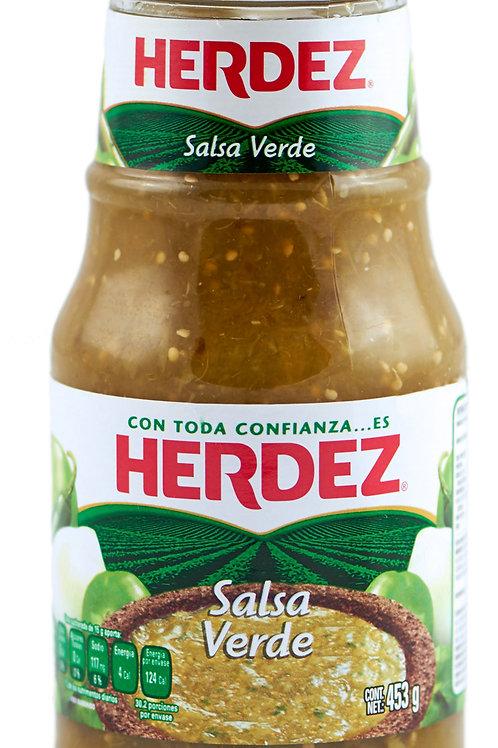 Salsa Verde Herdez - 453 gr.