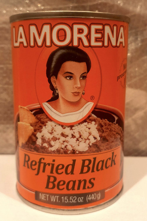 Frijoles refritos negros La Morena - 440 g