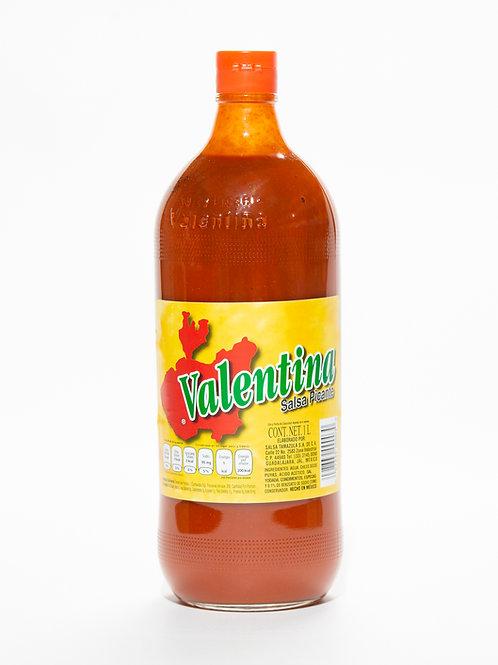 Salsa Valentina etiqueta roja - 1 litro