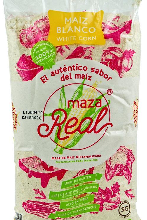 Harina de maiz blanca, Maza Real 1 kilo