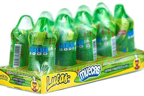 Muecas Lucas sabor Pepino - 10 piezas - 240 gr