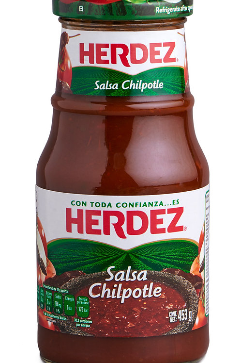 Salsa Chipotle Herdez - 453 gr