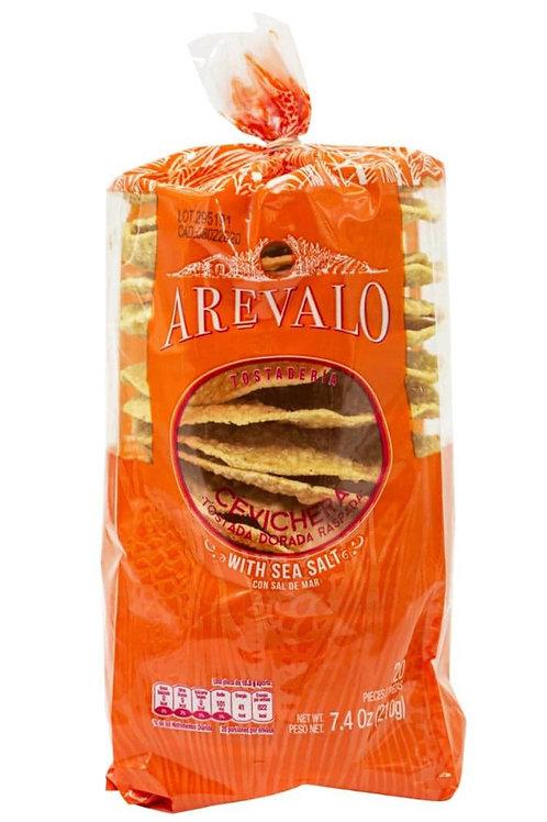 """Tostadas de maiz """"Arevalo"""" - 210 gr."""