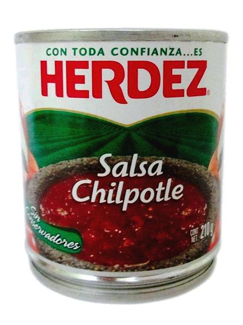 Salsa Chipotle, Herdez - 210 g.
