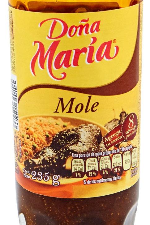 Mole poblano Doña Maria - 235 g