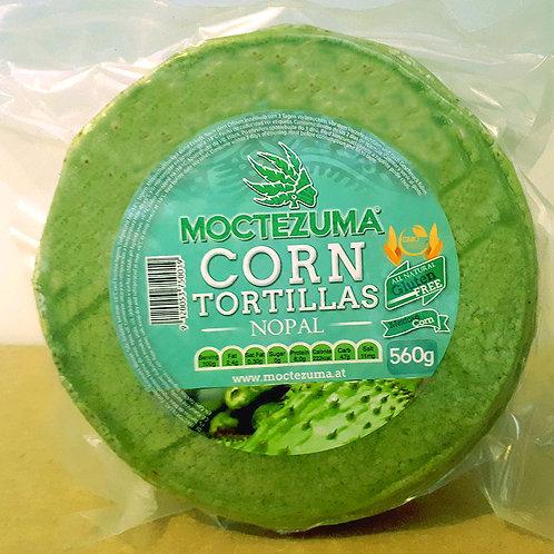 Tortillas de nopal Moctezuma - 15 cm, sin conservadores