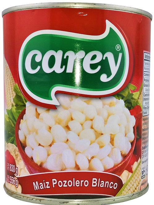 Maiz pozolero blanco, Carey - 830 gr