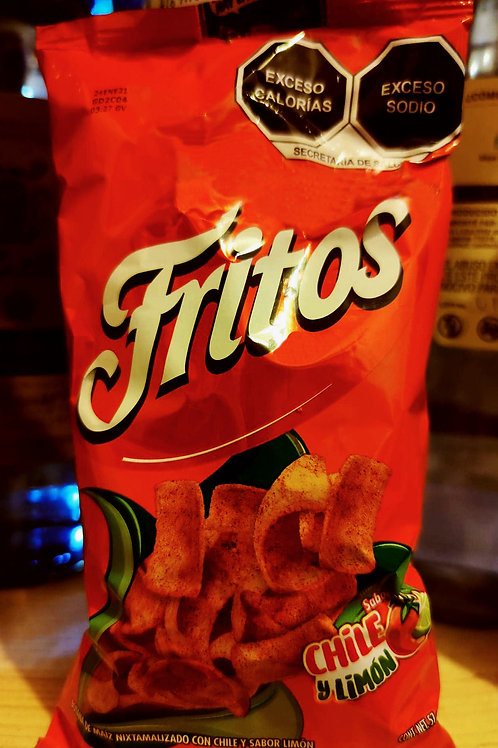 Fritos, con chile y limon - 57 gr