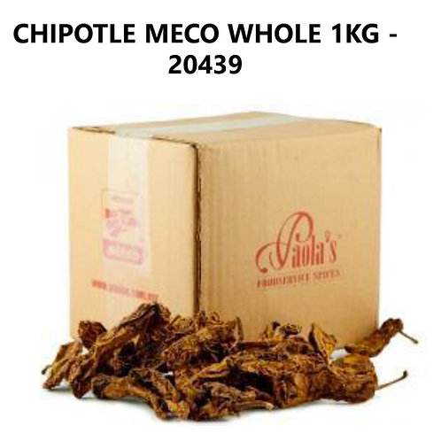 Chile seco Chipotle - 100 gr